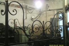 Оградка на могилу кованая, по индивидуальному эскизу